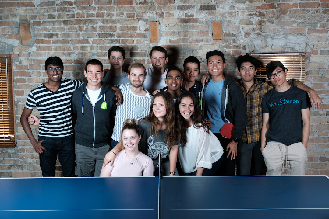 The Waterloo Shopify intern crew