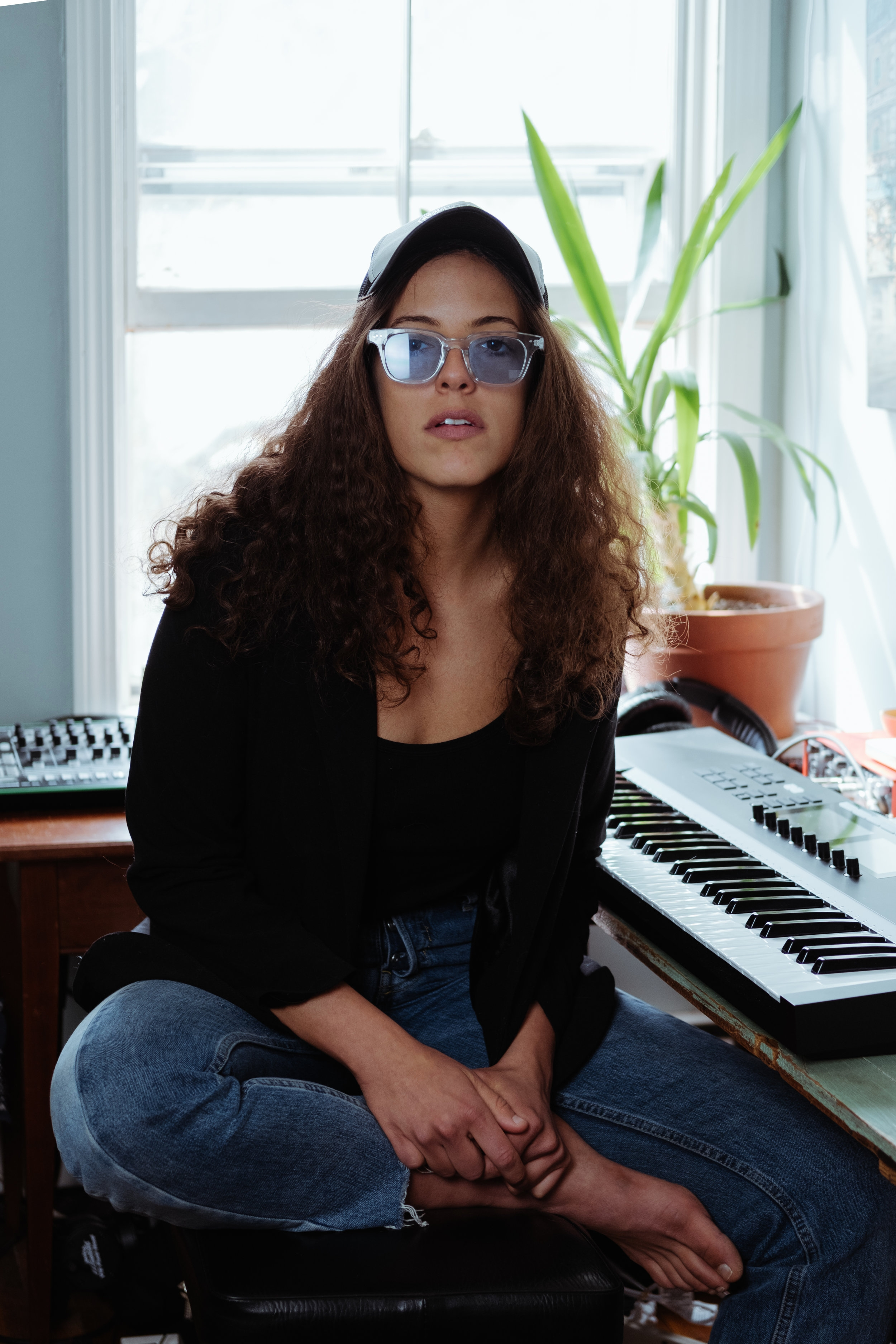 """- Raised in Philadelphia and later relocating to Tel Aviv, Israel at age 17, singer/songwriter and filmmaker Natále began performing on rooftops and in underground, cockroach-infested DIY venues with her 60-70s cover band. It was then that she developed her writing and sharing her original material.In 2014, on a failed trip to India, she discovered Providence and quickly became enchanted with the music and arts scene. Inspired by the New England community, she began shaping her sound, writing acoustic, folk-inspired songs, while incorporating her soul and jazz influences, occasionally singing in Hebrew - the native tongue of her father.In 2015, Natále put her own musician aspirations on hold to direct & co-produce the documentary """"Am I the Dream or the Dreamer? : a film about The Low Anthem, featuring The Avett Brothers, Brian Blade, Iron & Wine. The film screened at the End of the Road Festival in England during the summer of 2017, and quickly became Lucinda Williams' band approved.After years of exploring the life of musicians from behind the camera, she was ready to expand her own creative capabilities - writing, recording, and performing new music and directing short films. In 2018, she opened for Josiah Johnson (formerly of the Head and the Heart) and Christopher Paul Stelling.Currently, she spends her time between Providence, Philadelphia, Prague, and Tel Aviv - working on music & film and connecting with family."""