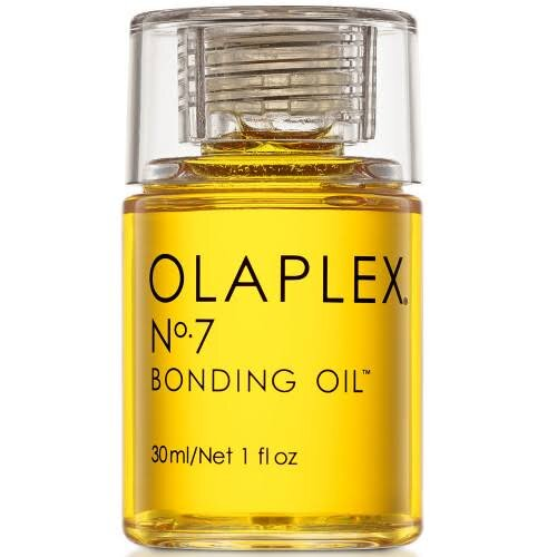 Olaplex No. 7 | Bonding Oil™ Leave-In - Repair hair as you style, with Olaplex No. 7 Bonding Oil. This highly concentrated styling oil repairs damage, strengthens and protects, and adds shine and a silky yet lightweight finish, all while providing heat protection up to 230°C.
