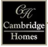 Cambridge Homes   General Contractor
