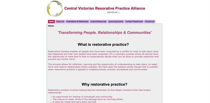 Central Victorian Resorative Practice Alliance