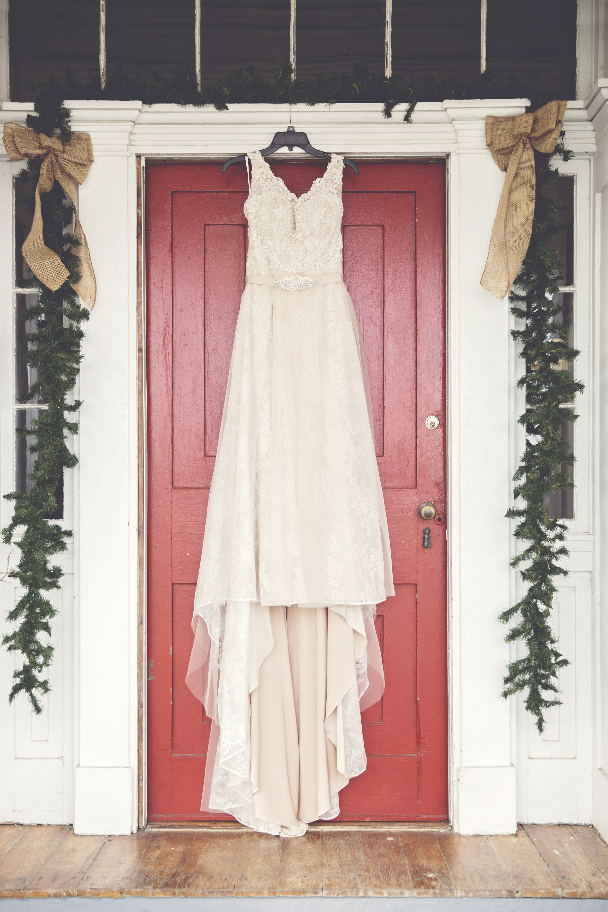 Winter Wedding Springmill manor Thurmont MD