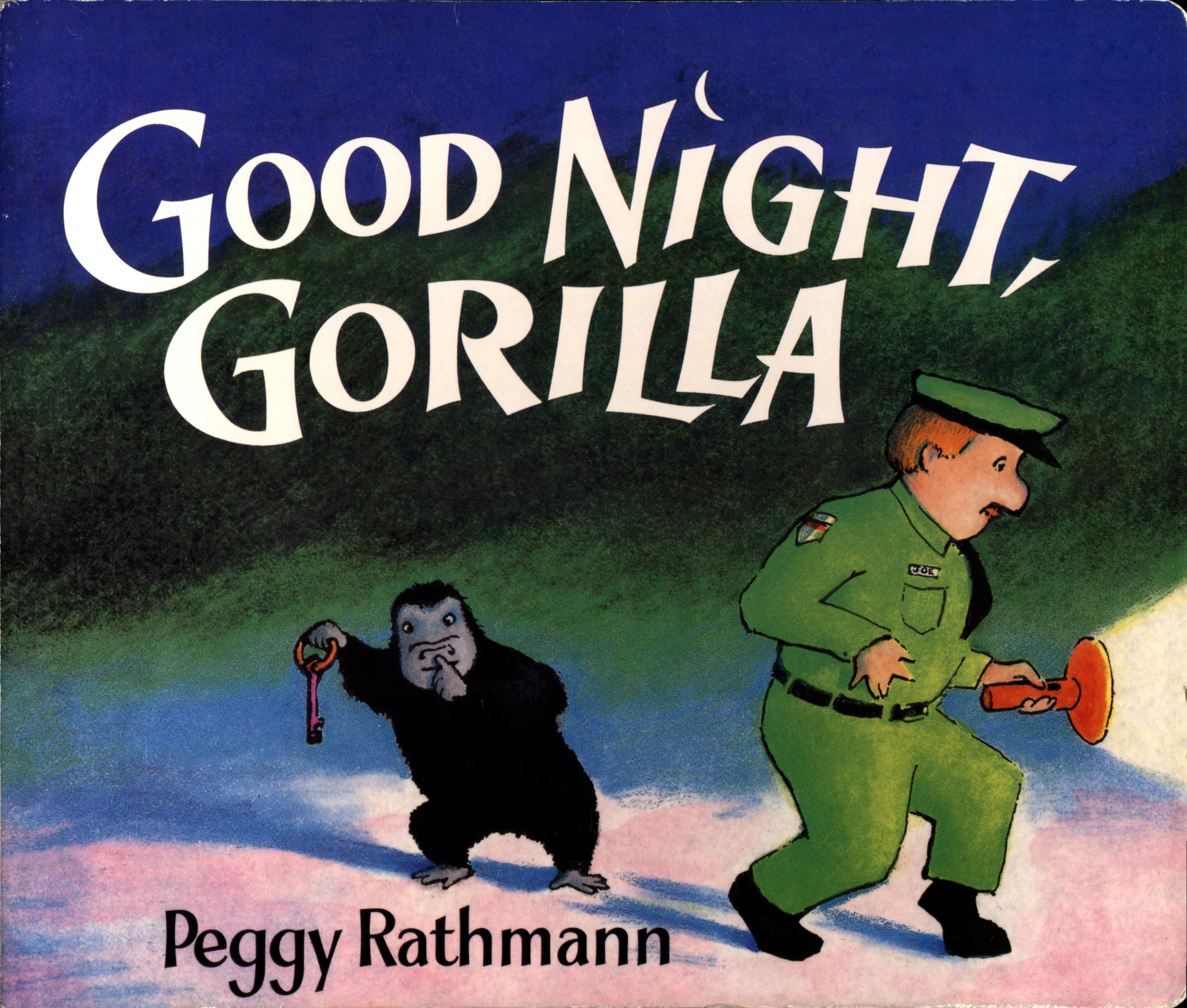 cover, good night gorilla