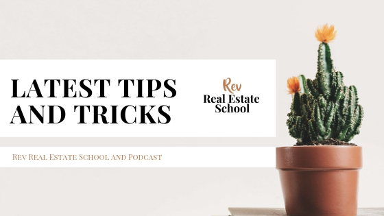 Rev Real Estate School Tips