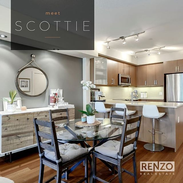 Meet SCOTTIE -  The contemporary 1 bed + DEN two-storey townhouse in Brunette by Batistella. This SOUTH-facing unit offers a private PATIO space with street level access and plenty of natural light. ⁠ ⁠ New Price: $325,000⁠ .⁠ ⁠Call/text for a viewing.👇🏻⁠ 👨‍💼 Michael Montgomery⁠ 📞 587-227-6204⁠ 💌 hello@renzorealestate.com⁠ .⁠ .⁠ 🏡 Listed by Michael Montgomery, Renzo Real Estate⁠ ⁠ #yycre #yycnow #yycliving #realtor #realestate #design #yychomes #yycre #403 #yycrealestate #yycrealtor #yycrealestateteam #yycbusiness #yycdesign #architecture #yycstyle #calgaryrealtor #calgaryrealestate #realtorlife #realtoring