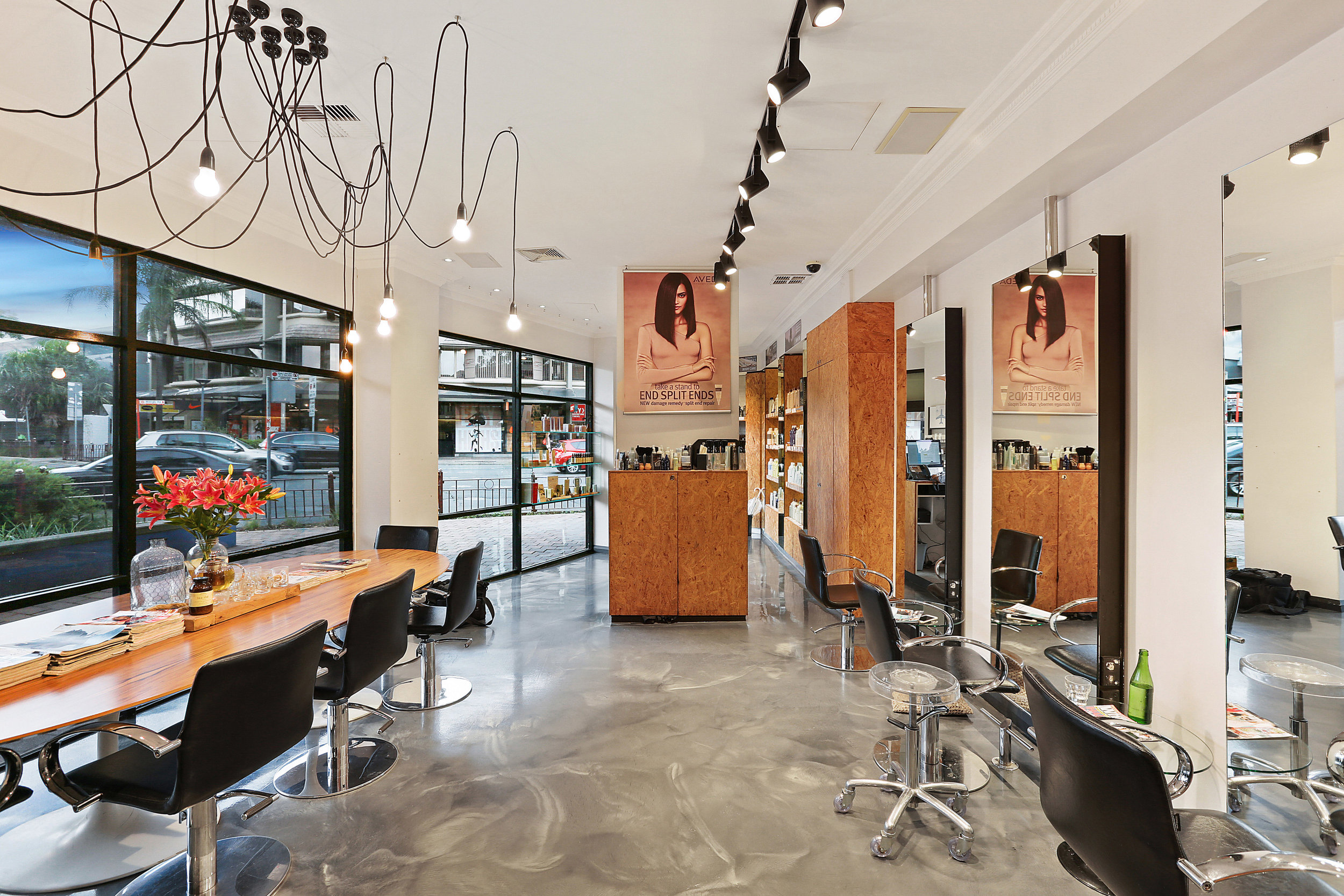 We're an Aveda Concept Salon - We specialise in cutting & colouring services.Opening its doors on July 2010, as the dream of its namesake owner Nathan Yazbek. The salon is a beautiful space that reflects Nathan's philosophy of providing beautiful hair, great customer service & on all levels, a fantastic experience.