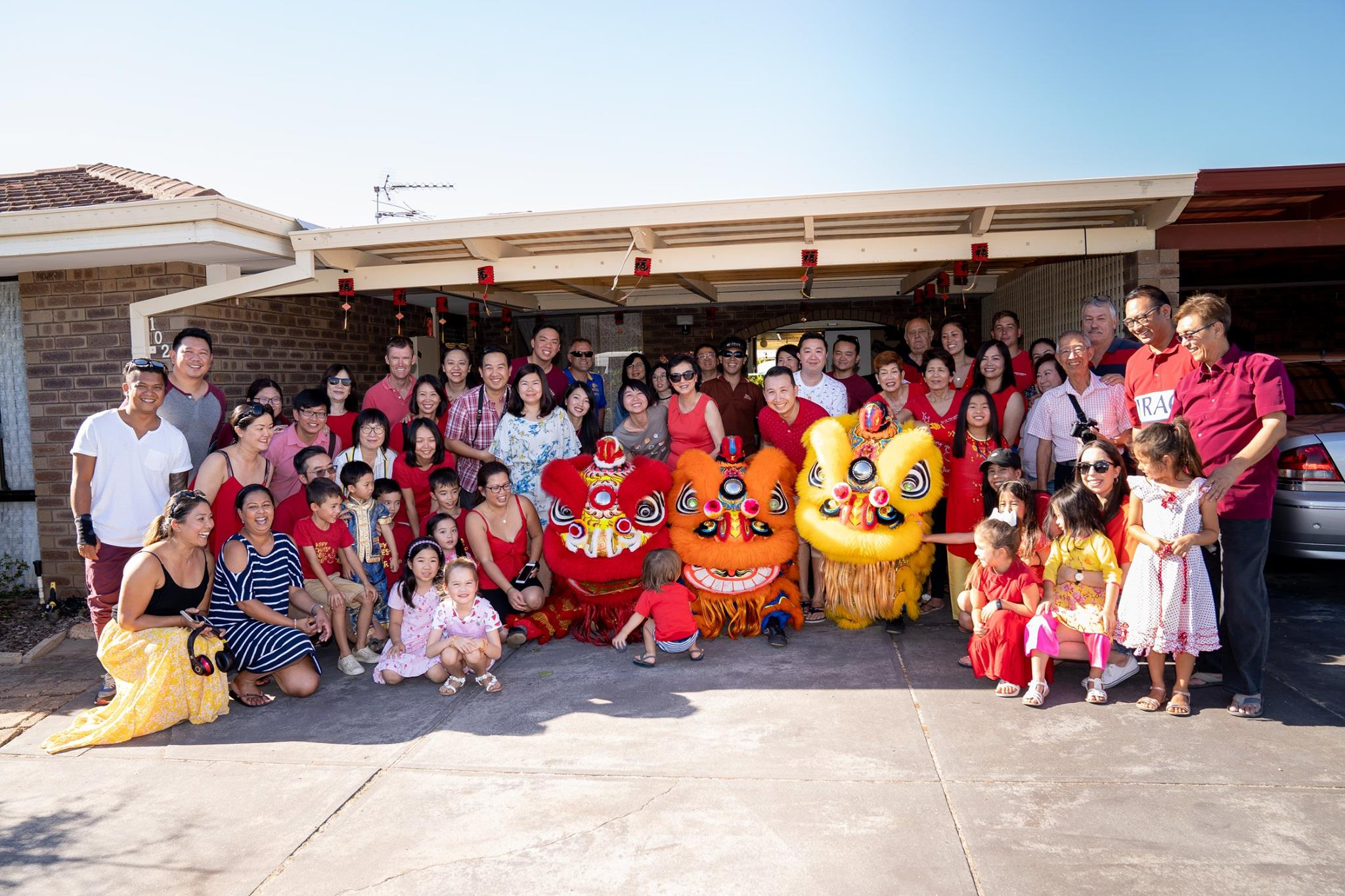 Chinese New Year with the Wong family
