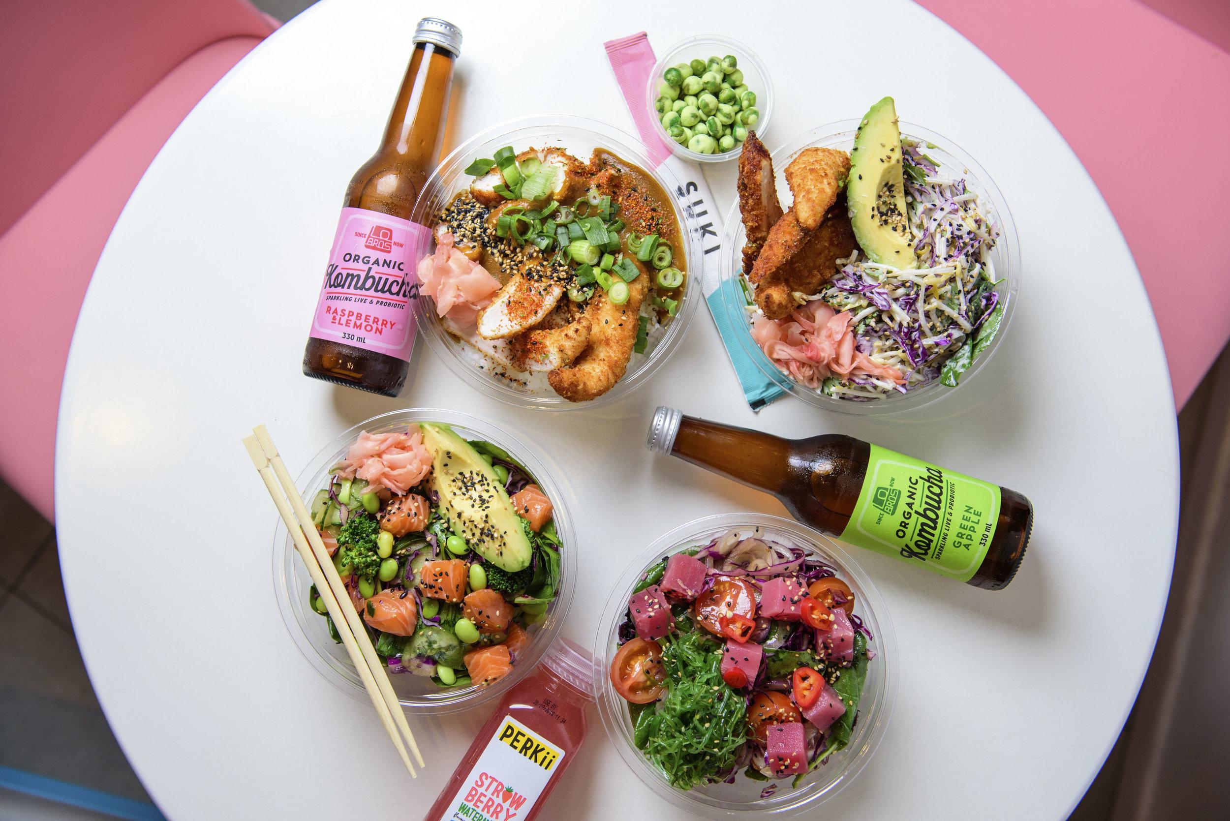 Delicious Suki poke bowls