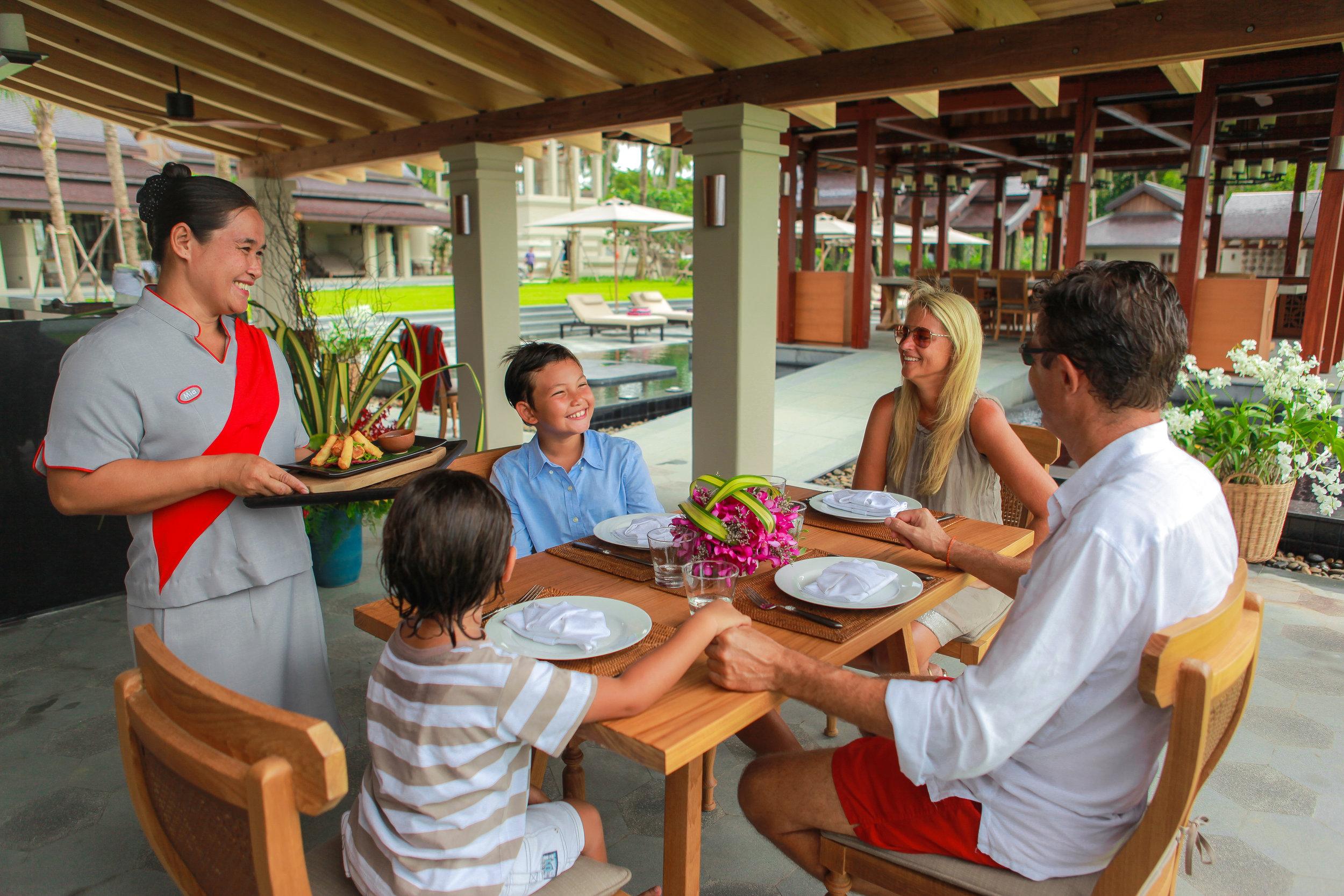 Kosher Lunch at Ani Villas Thailand