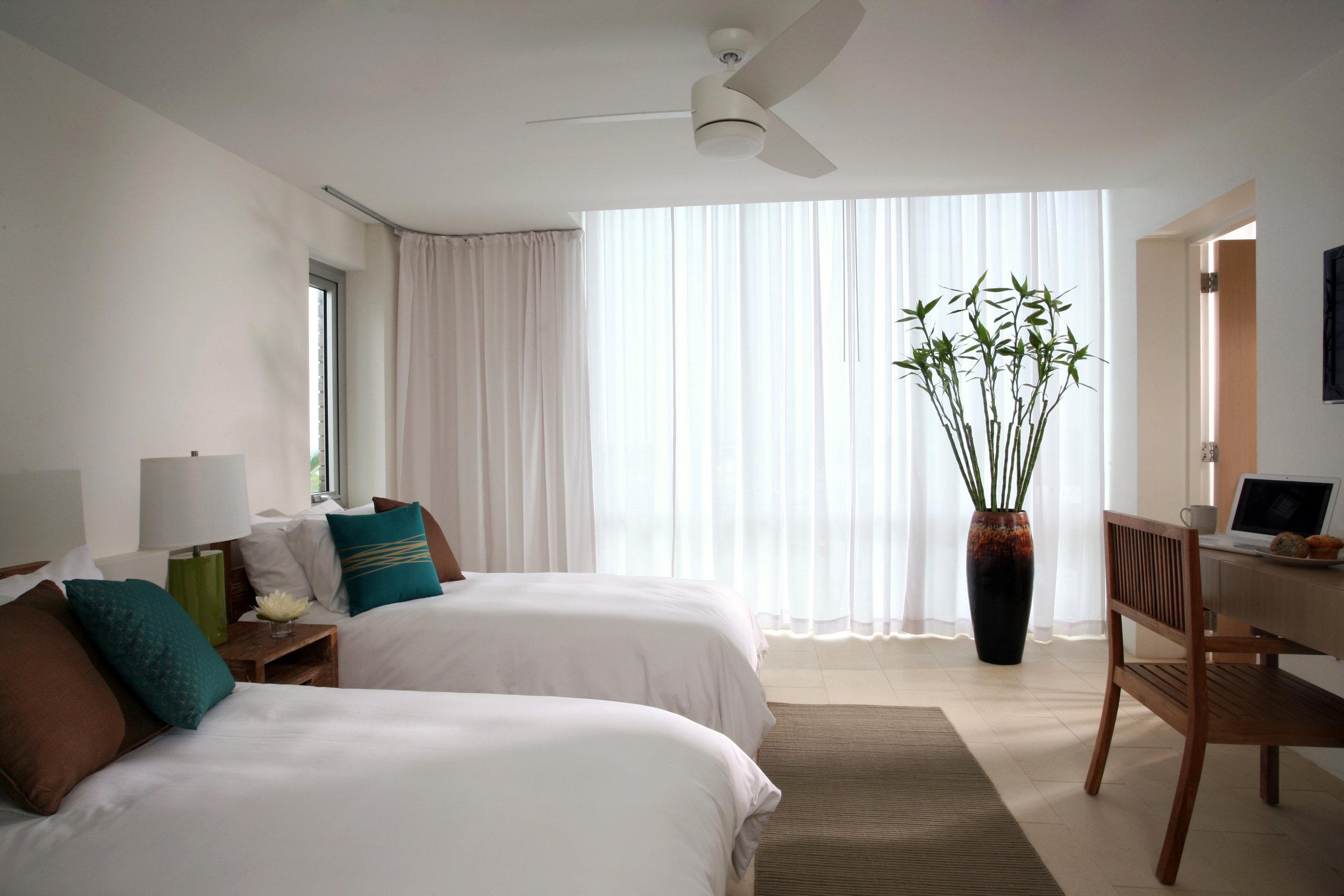 贵宾套房(2张单人床或1张超大号床)- 南别墅