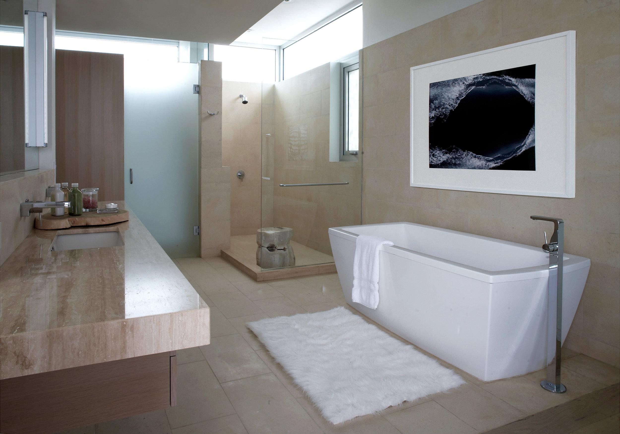 M主卧浴室- 北别墅