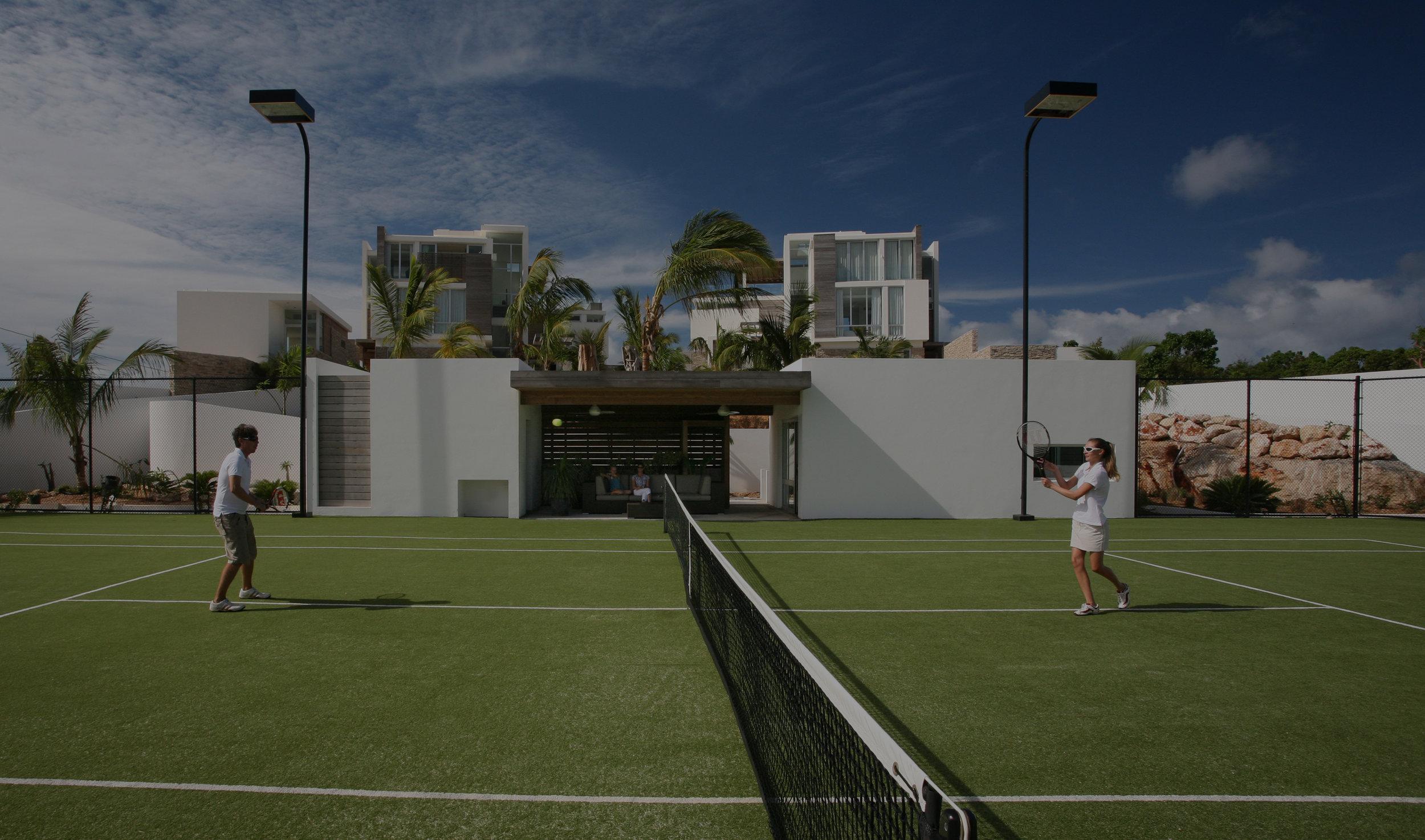 フィットネス&ウェルネス施設、テニスコート、クッキングクラスが、あなただけのために用意されることを思い描いて下さい。 -