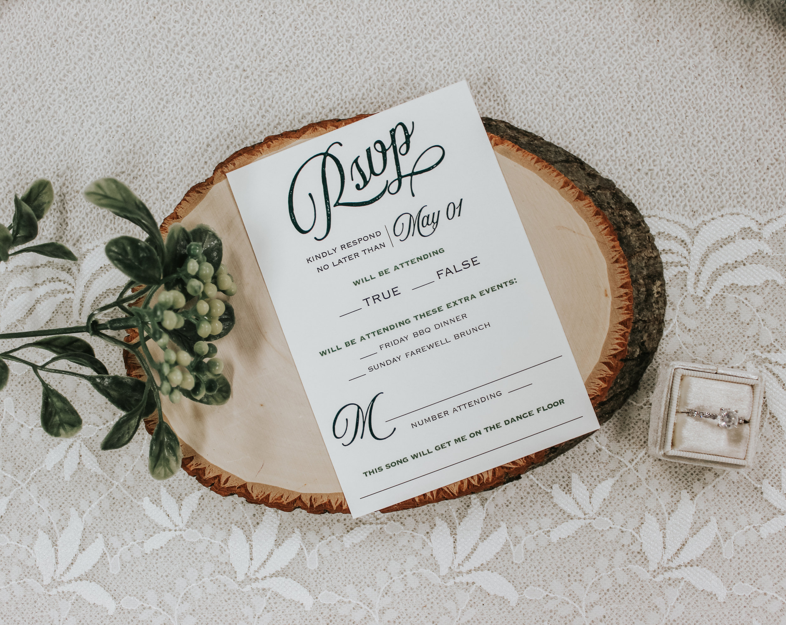 Guests Say Yes Rsvp Card Inspiration Art Paper Scissors