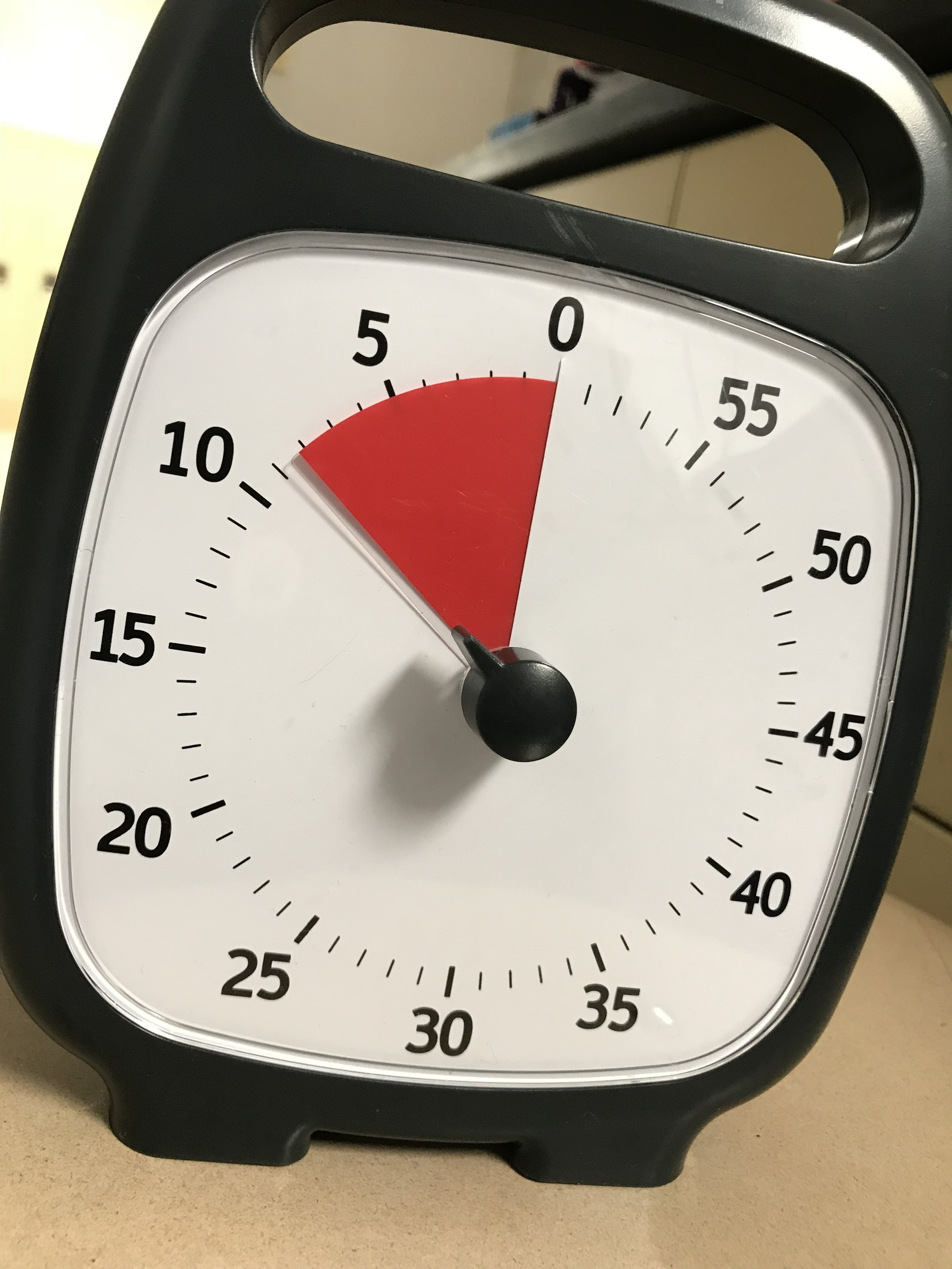 The Time Timer in my classroom.  Order your own Time Timer  here !