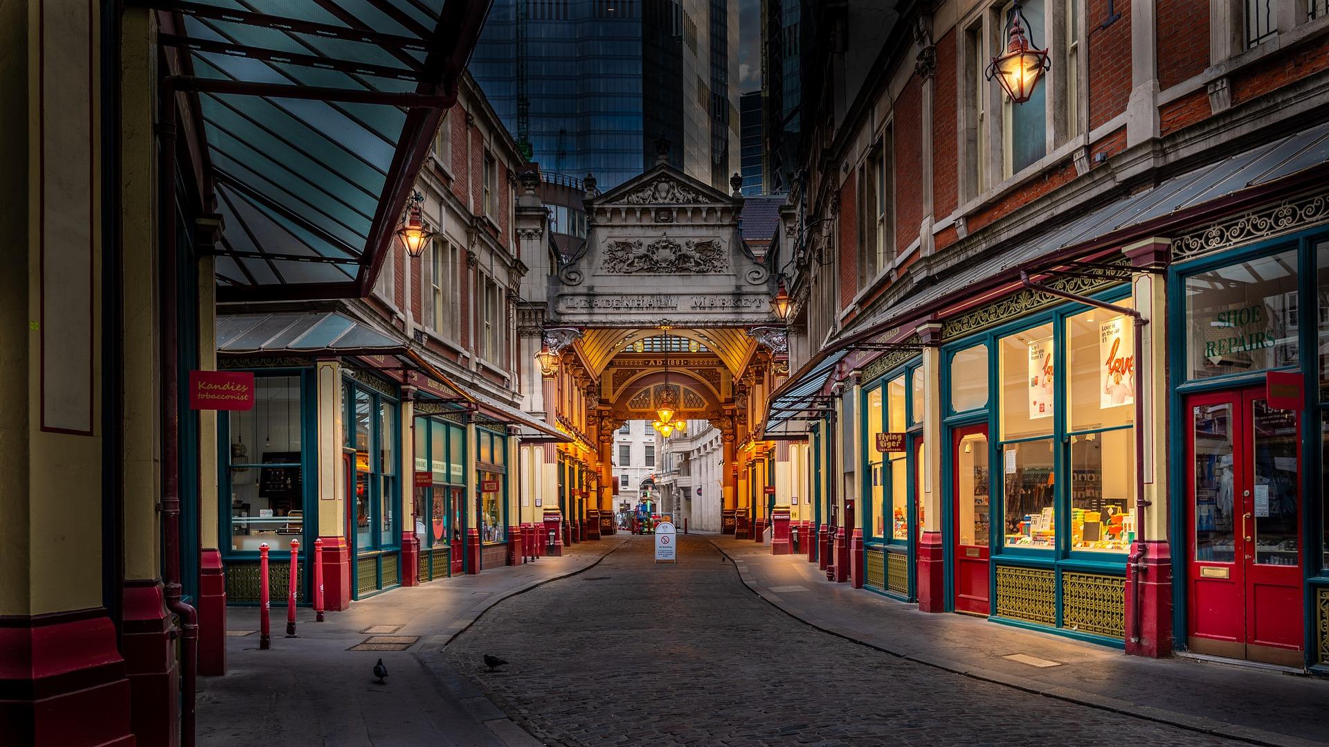 The markets of London await!