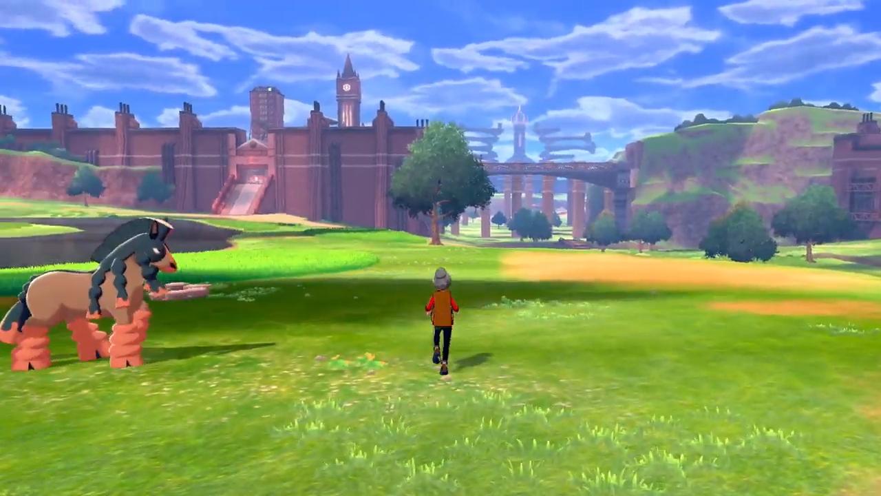 The wild area in Pokémon Sword & Shield