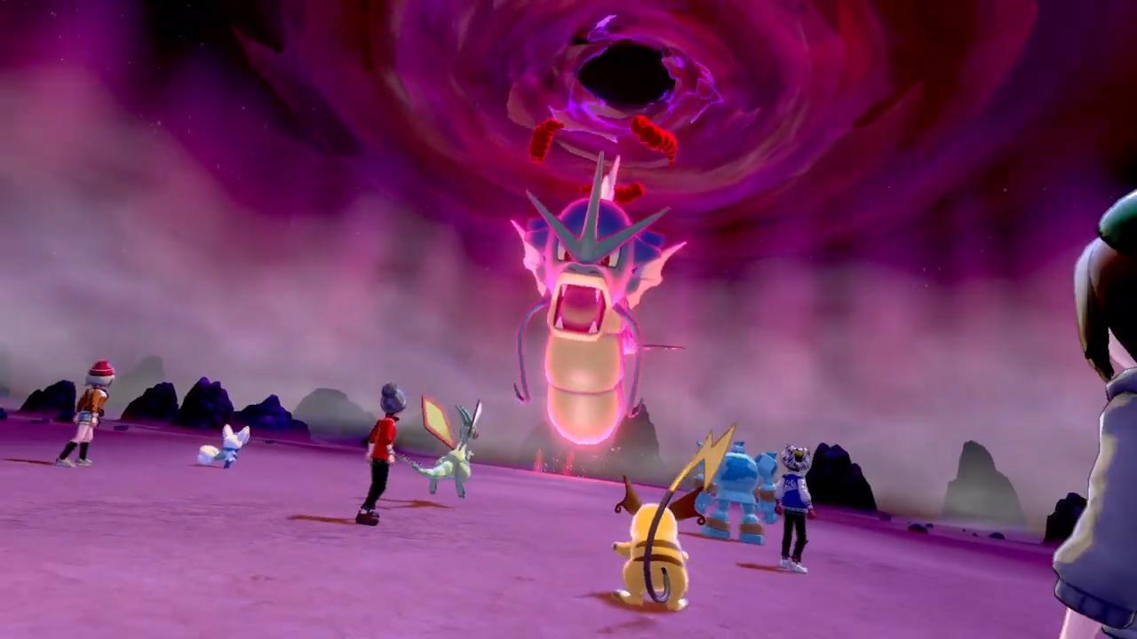 Pokémon Sword & Shield will feature 4 Player Raids 'Max Raid Battles' against Dynamaxed Pokémon