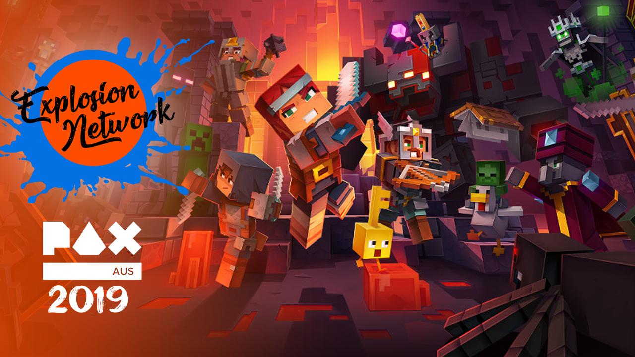 Minecraft Dungeons Hands-On Impressions | PAX AUS 2019