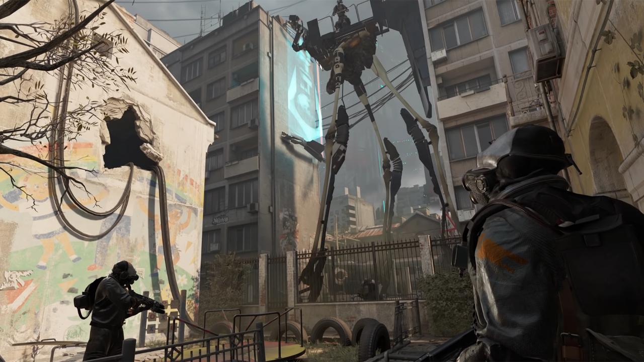 Return To City 17 In 'Half-Life: Alyx'