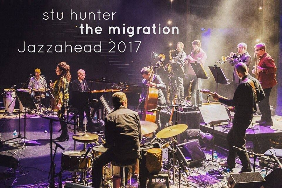 Off to Bremen and Jazzahead with Stu Hunter's Migration