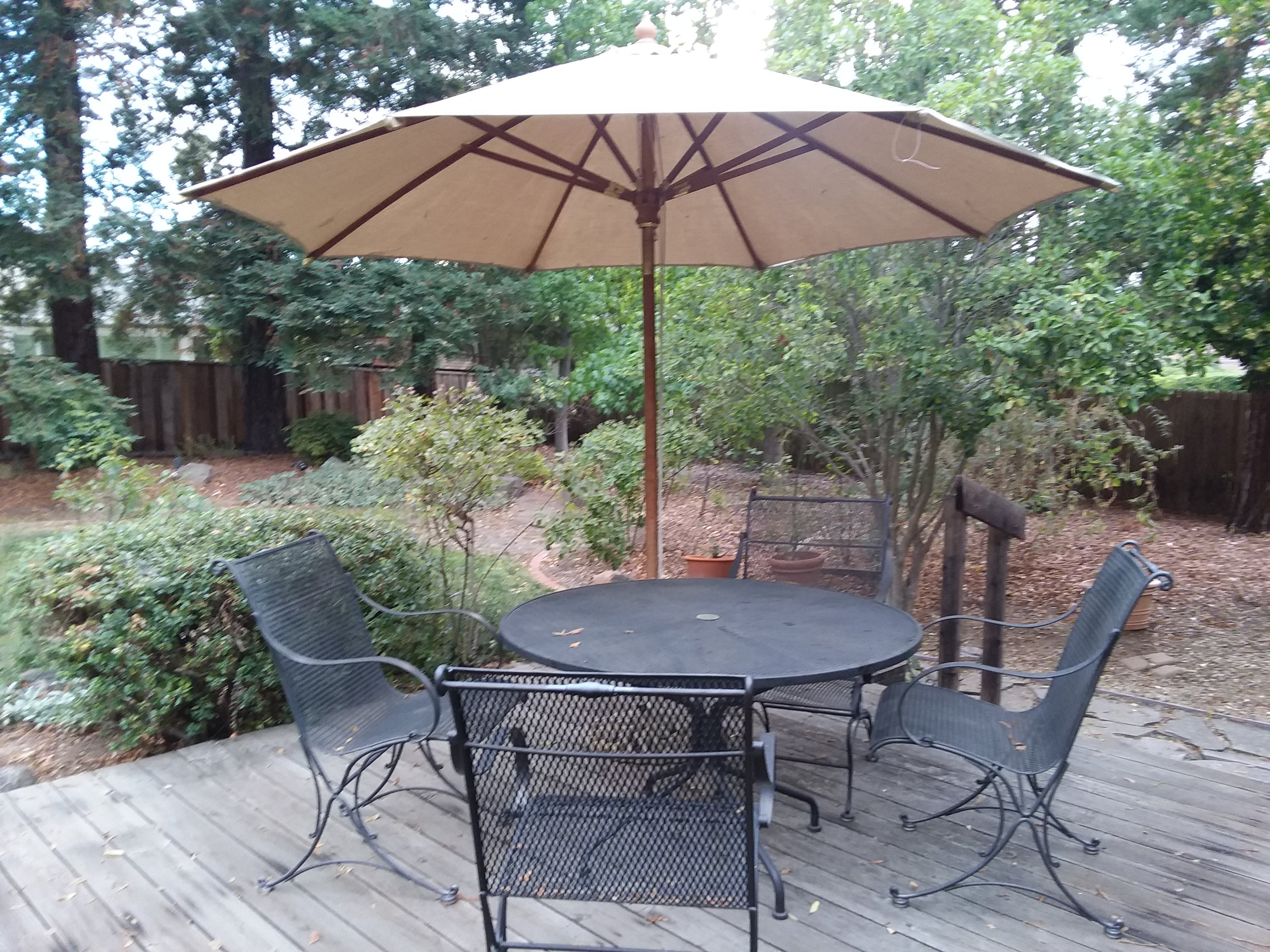 M'Lou Bell Back Deck Table Taken on Mon., Oct. 1, 2018.jpg