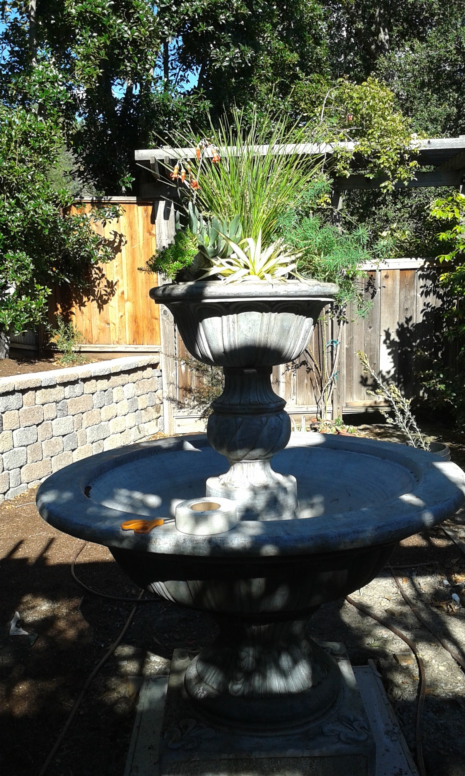 Amason Succulent Fountain in 2016 with top tier planted.jpg