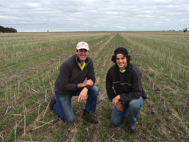 Generation to generation, Noodle Wheat Paddock, WA