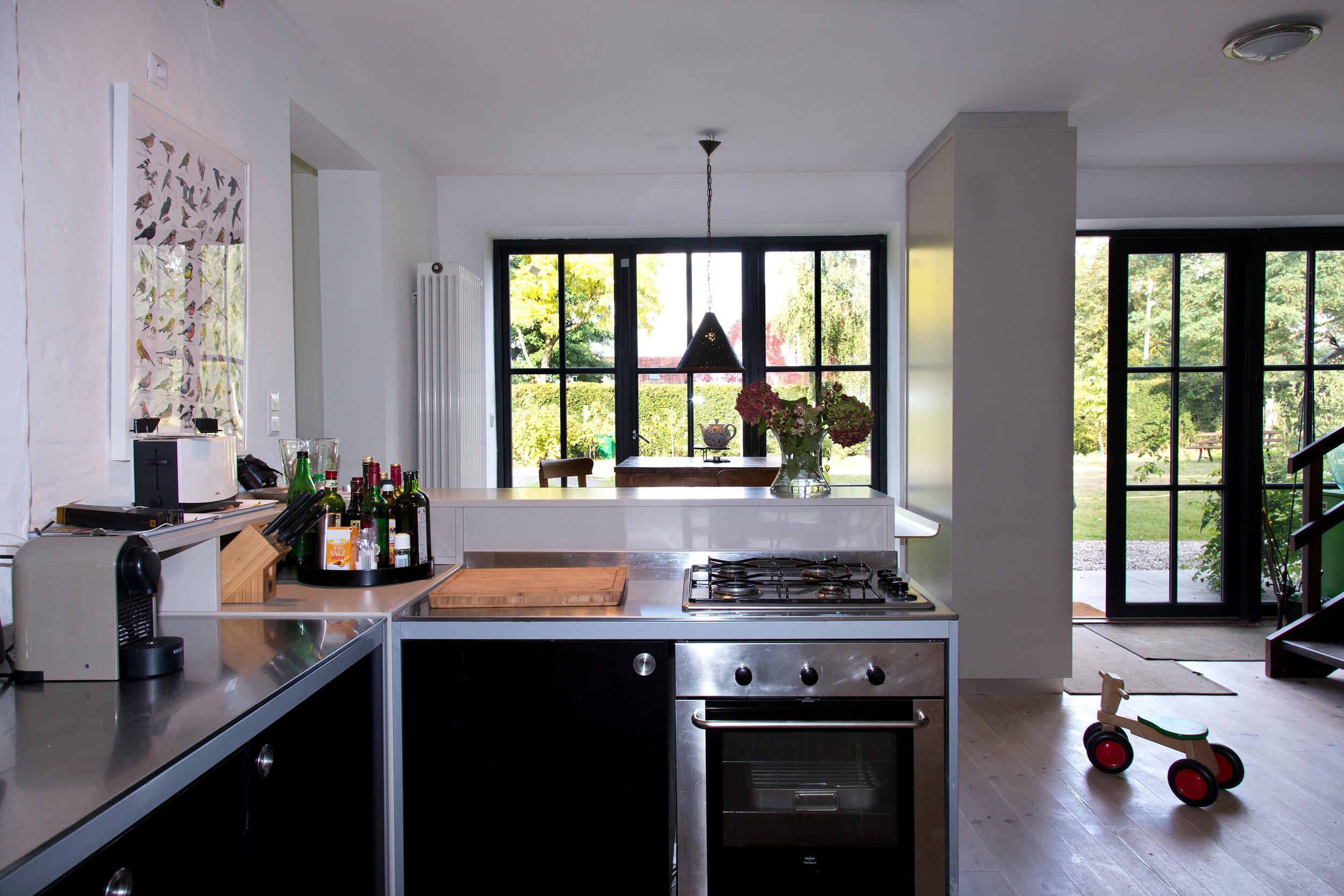 Küche Richtung Eingang