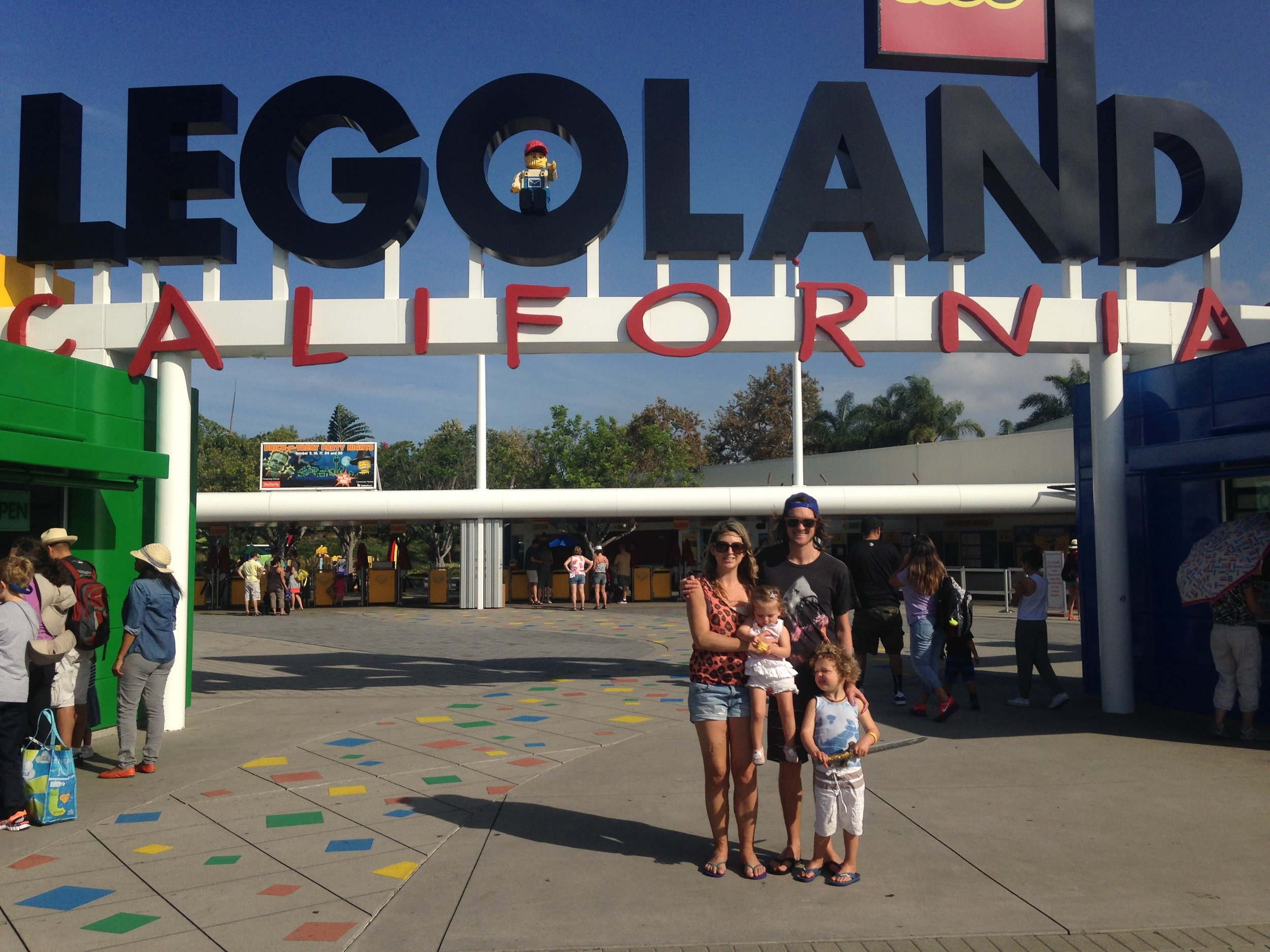 Legoland here we come!