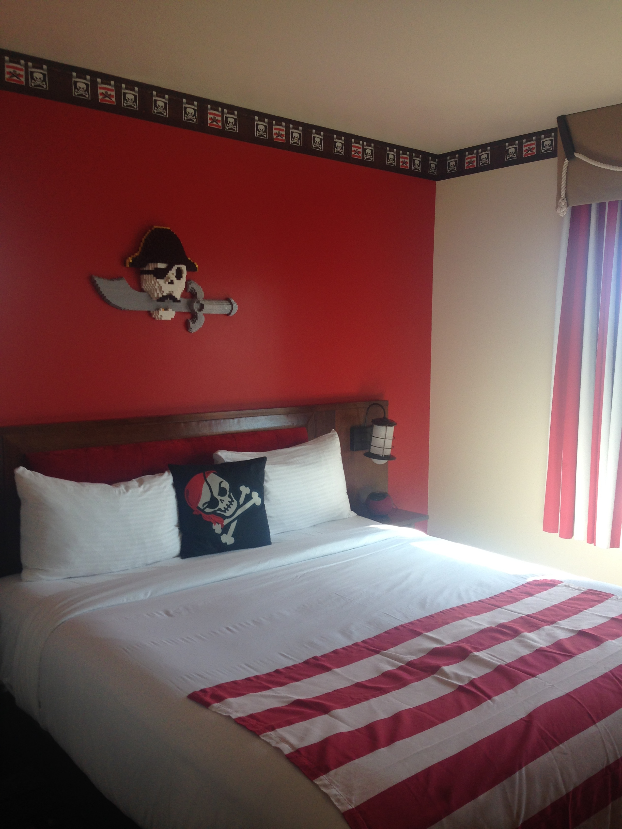 Our Pirate themed room