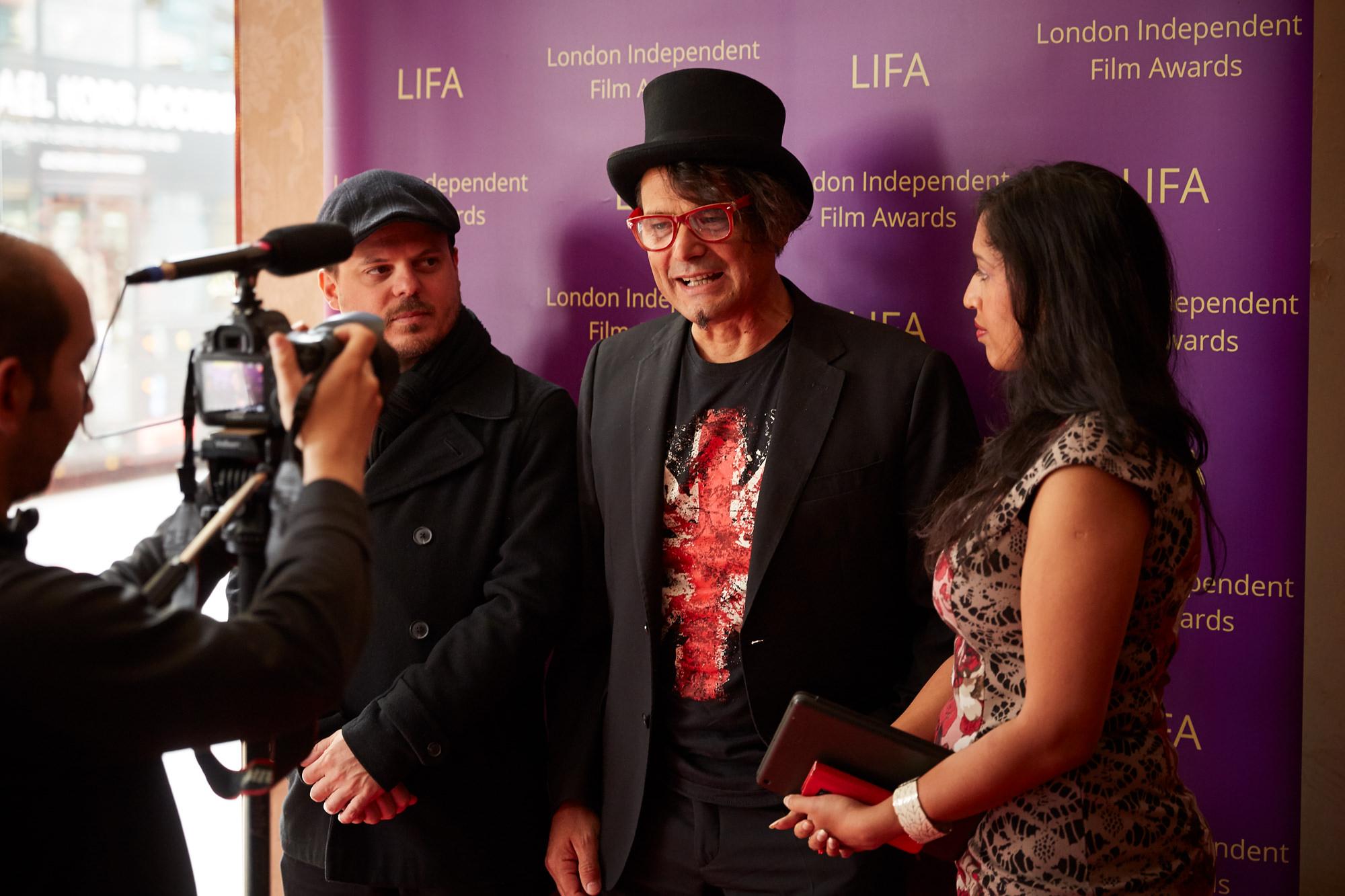 london independent film awards event photographer