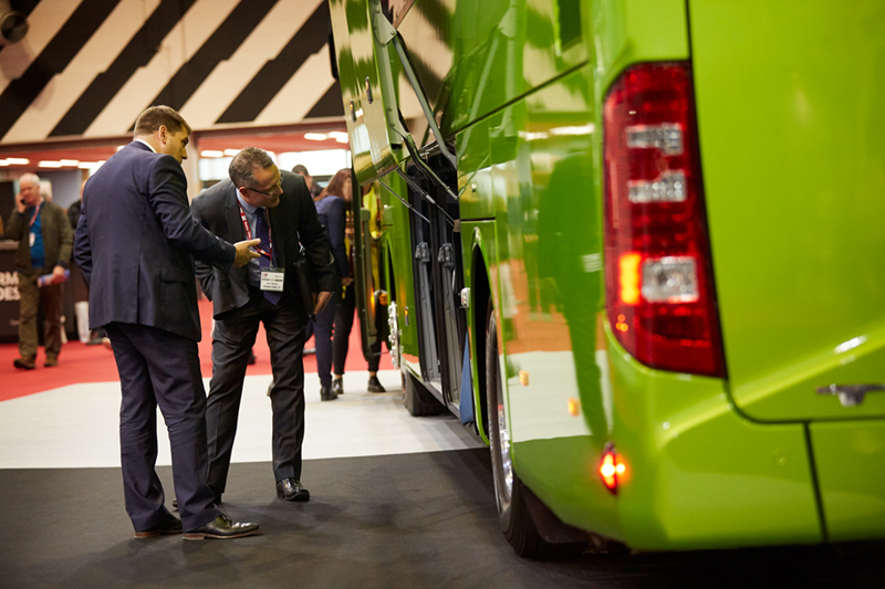 bus and coach exhibition nec Birmingham event photographer