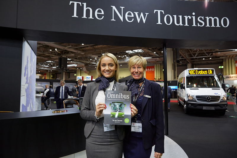 bus and coach exhibition nec Birmingham event photographer with mercedes