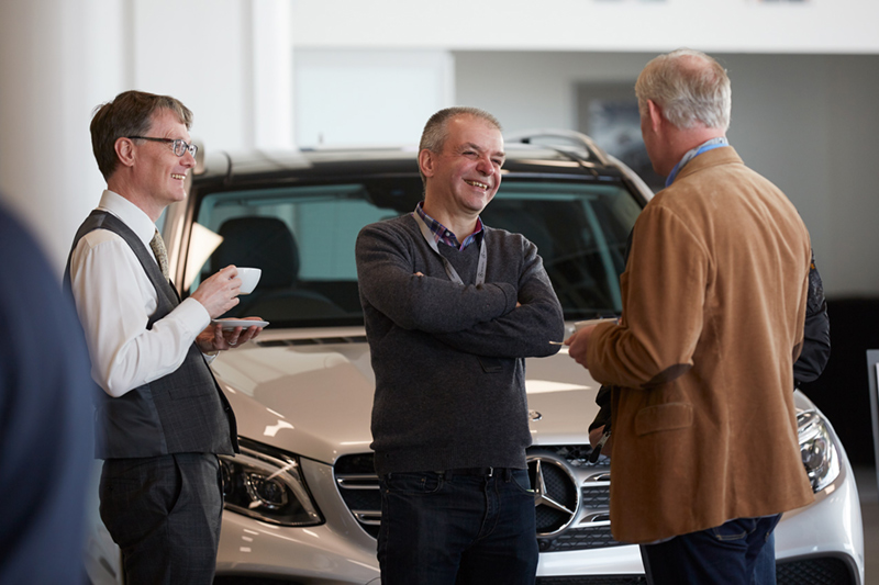 Surrey event photographer mercedes benz world