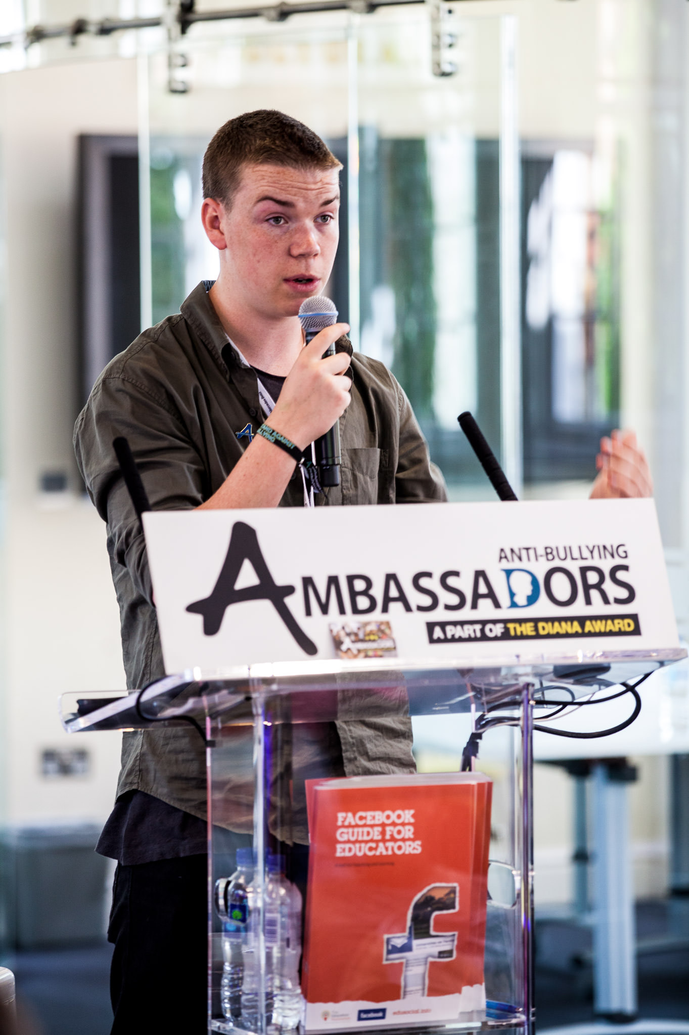 will poulter Sunday times festival of education