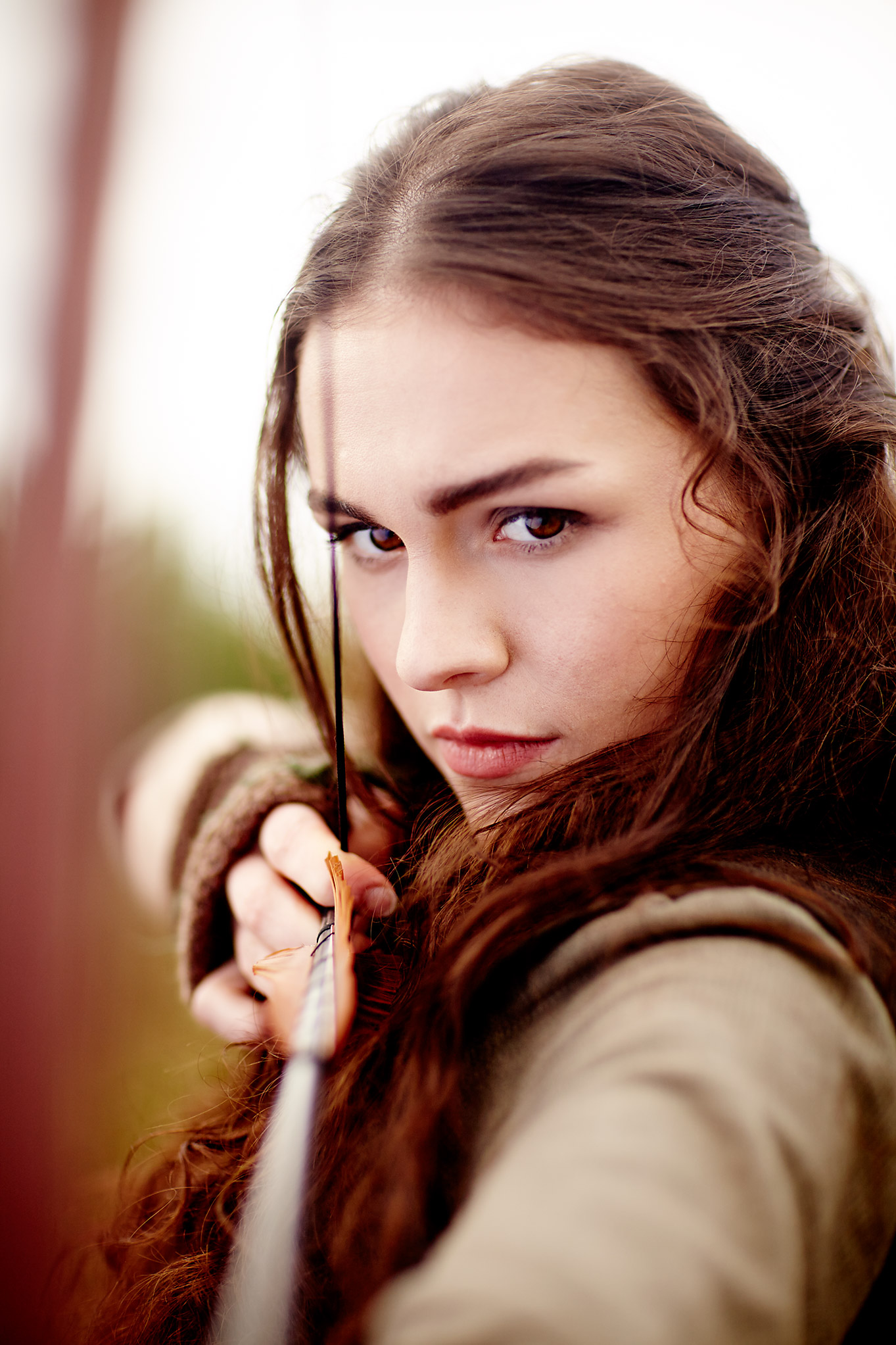 Sophie Skelton in ren uk stills photographer fantasy drama
