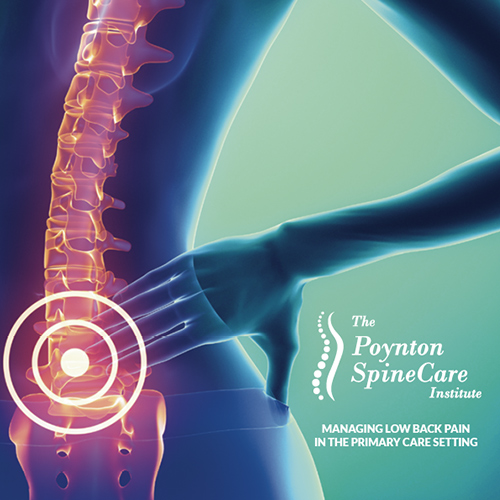 ManagingLow Back Pain In The Primary Care Setting