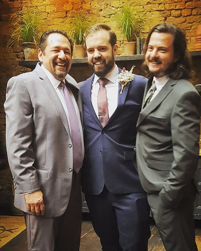 "Our man Freddie is back on tour...he's in London this weekend celebrating the marriage of our good friend and patron @mrmarksidneyjohnson (not to @swcr.tv )😂😂😂 ... As always Freddie is available for weddings,christenings and bar mitzvahs(3 months notice and air fare  please!) . Congratulations to Mark and Betty from us all here at swift ""May you live all the days of your life"" ❤️❤️❤️🎸🎸🎸"