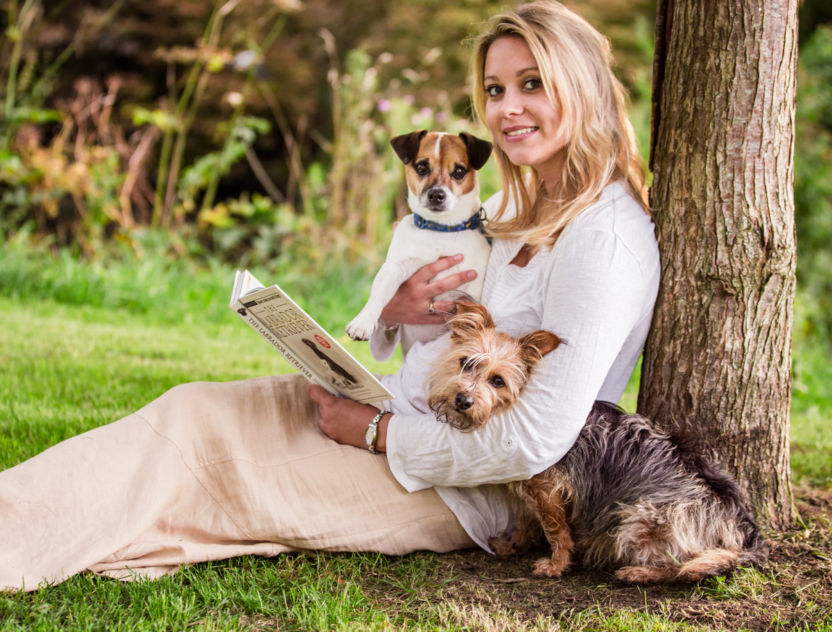 Portrait photography with a dog_ Eva Rale Photography Surrey