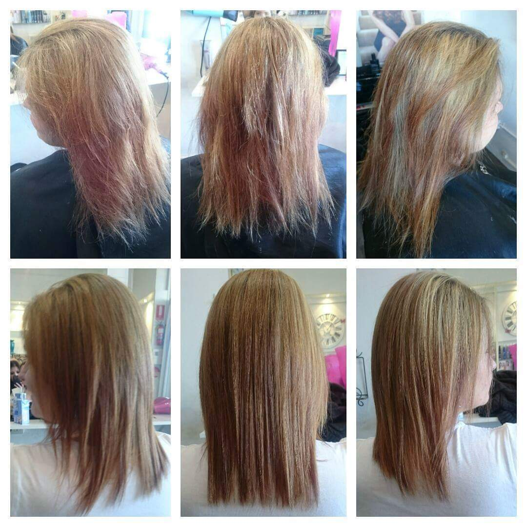 Kelly received a gift voucher for her birthday to get a Keratin treatment. Her hair now feels so much better and smoother.
