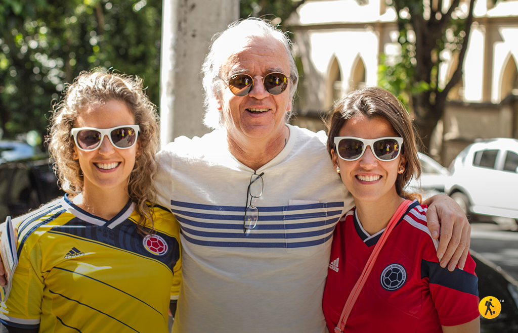 First day in Belo Horizonte with my daughters Laura and Monica