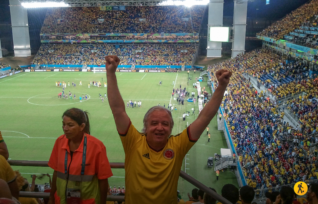 Another great victory in Cuiaba, Colombia 4 - Japan 1.