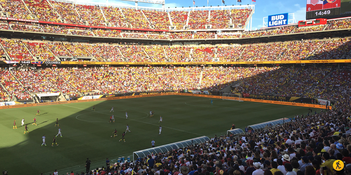 Great game, and amazing atmosphere at the stands.