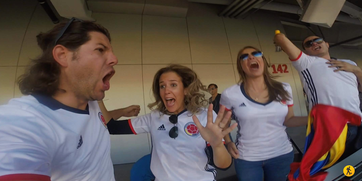 Perhaps the BEST goal reaction ever.