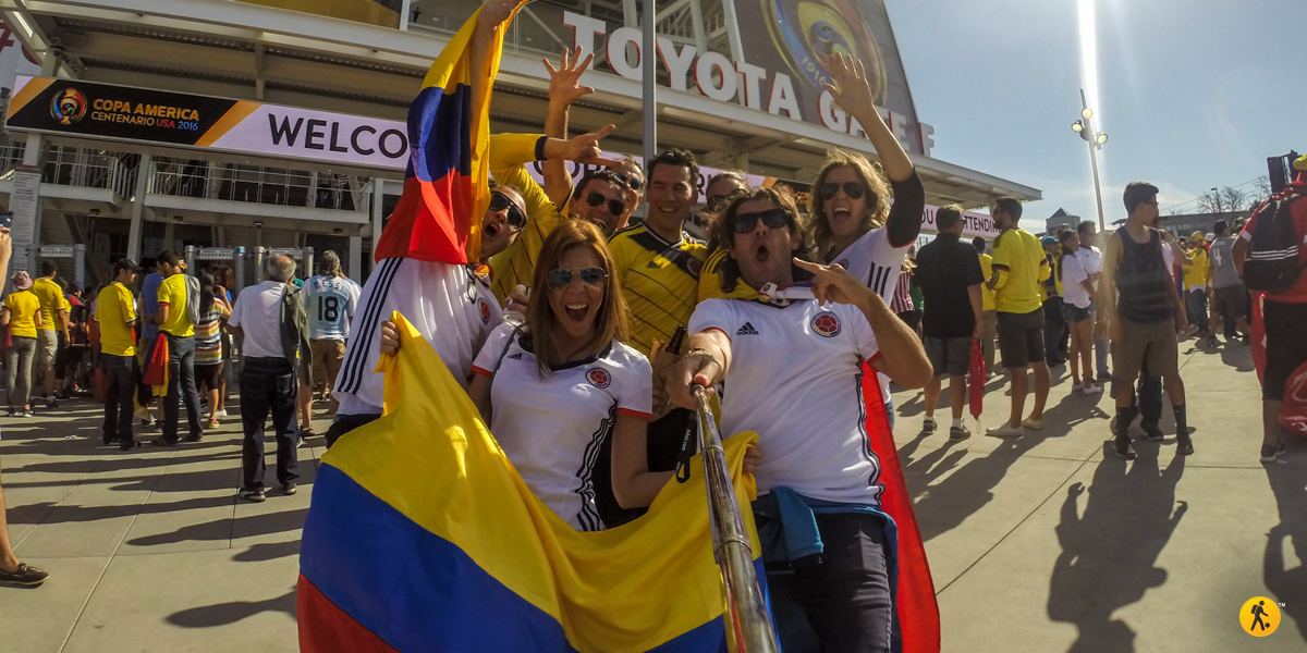 Victory for Colombia. So glad we were there.