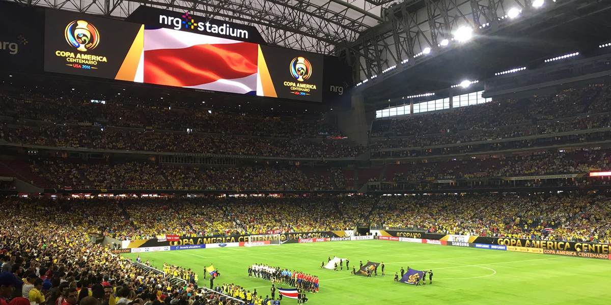 National anthems.