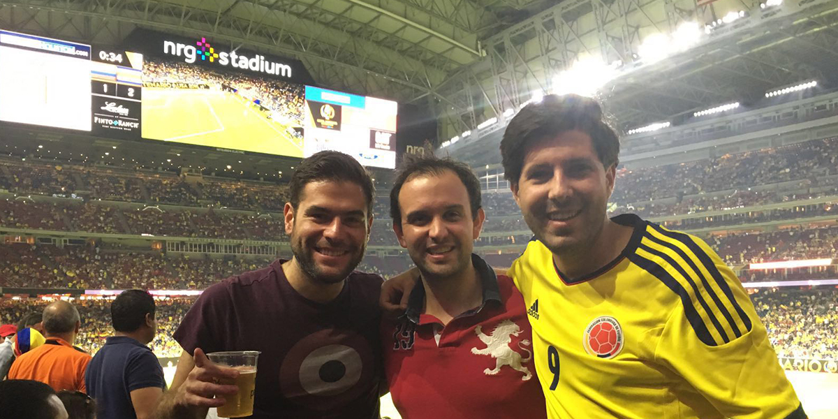 Another great game in company of our good friends Miguel Jiménez and Santiago Morfin.
