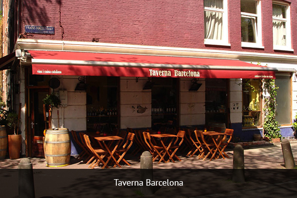 TARVERNA BARCELONA |   +34 933 017 653   If you are looking for a full immersion into Barcelona FC fandom, direct yourself to La Taverna. The second floor is where you'll find the most dedicated fans singing and chanting for the duration of the game.   Address: Ronda Universitat, 37