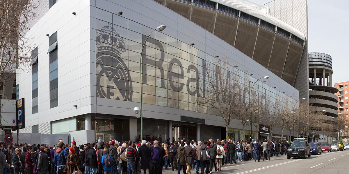 Santiago Bernabéu Stadium – Real Madrid