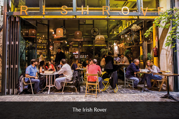 THE IRISH ROVER | +  34 915 97 48 11    The Irish Rover offers a great atmosphere for the supporters. With several large HD TVs and great pizza and drinks, this pub is one of the preferred destinations to watch football matches in Madrid.   Address: Av. de Brasil, 7, 28020